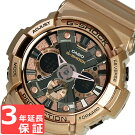 G-SHOCKCASIOカシオGショックメンズCrazyGoldアナデジGA-200GD-9BDRローズゴールド海外モデル