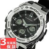 【3年保証】 カシオ 腕時計 CASIO GST-W110-1A 海外CASIO 時計 並行輸入品 GST-W110-1A メンズ G-SHOCK ジーショック G-STEEL Gスチール ソーラー ( 国内品番 GST-W110-1AJF ) カシオ 腕時計 【あす楽】