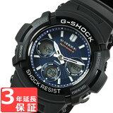 【3年保証】 カシオ 腕時計 CASIO G-SHOCK CASIO Gショック 防水 ジーショック メンズ AWG-M100SB-2A 時計 電波時計 電波 ソーラー AWG-M100SB-2ADR ブラック 黒 海外モデル [国内 AWG-M100SB-2AJF と同型] カシオ 腕時計 【あす楽】