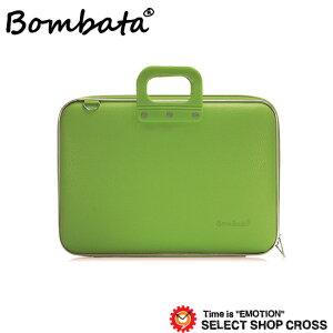 ボンバータPCバッグノートパソコン用ブリーフケースMaxiBombataマキシ17インチ・B4ファイル対応PVCレザーE00651-7ライトグリーン