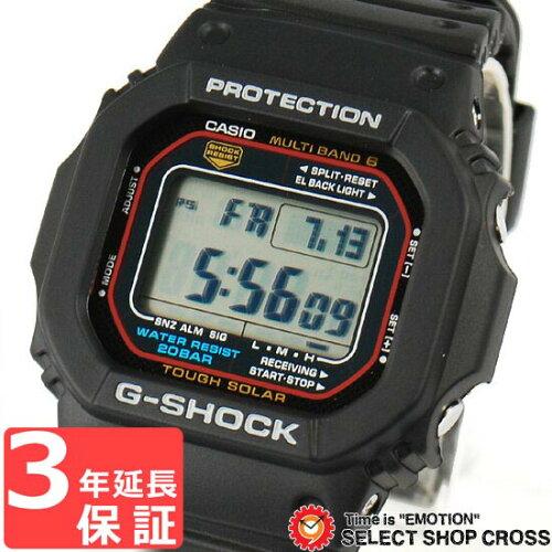 Gショック G-SHOCK カシオ CASIO メンズ 腕時計 電波 ソーラー GW-M5610-1DR ブラック 黒 海外モデ...