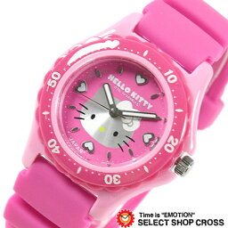 シチズン 腕時計 Q&Q ハローキティ 日本製 HELLO KITTY MADE IN JAPANモデル ピンク×ピンク 0029N002