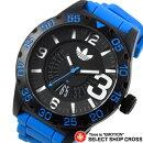 アディダスadidas腕時計NEWBURGHニューバーグブラック×ブルーADH2966