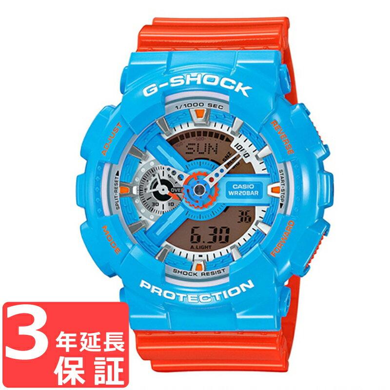 腕時計, メンズ腕時計  3 CASIO G-SHOCK G GA-110NC-2ADR GA-110NC-2AJF
