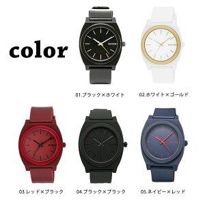 NIXONニクソンTHETIMETELLERタイムテラー腕時計ブラックホワイトレッドネイビーA119選べる5カラー