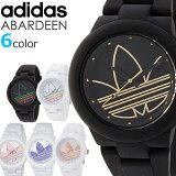 adidas アディダス メンズ レディース ユニセックス 腕時計 ABERDEEN アバディーン ADH 選べる6カラー モノトーン シンプル ブラック ホワイト ピンク パープル