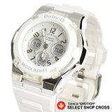 【3年保証】 カシオ 腕時計 CASIO BGA-110-7B ベビーG BABY-G ベビーG レディース キッズ 子供 海外モデル BGA-110-7BDR ホワイト カシオ 腕時計 【あす楽】