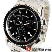 ハミルトン HAMILTON Jazzmaster ジャズマスター メンズ 腕時計 シービュー クロノグラフ H37512131 ブラック 黒 【男性用腕時計 リストウォッチ ランキング ブランド 防水 カラフル】