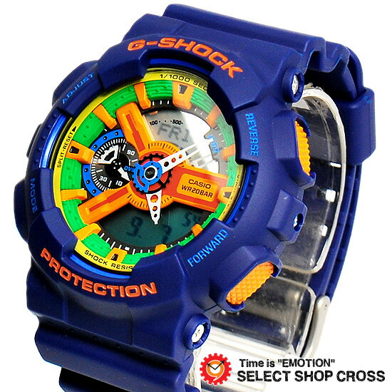 腕時計, メンズ腕時計  3 G CASIO G-SHOCK G Crazy Colors GA-110FC-2AER