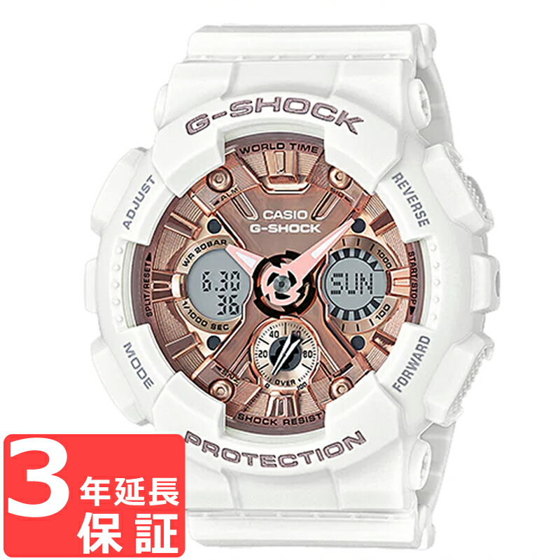 腕時計, メンズ腕時計  3 CASIO G G-SHOCK S GMA-S120MF-7A2DR