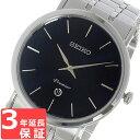 【3年保証】 セイコー SEIKO 時計 プルミエ Premier クオーツ メンズ 腕時計 おしゃれ SKP399P1 ブラック 海外モデル セイコー SEIKO 腕時計