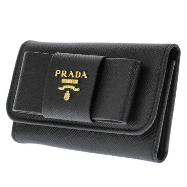 プラダ PRADA 1PG222 S/FIOCCO/NER キーケース カバン レディース