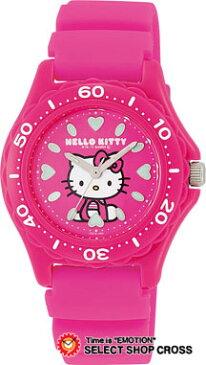 シチズン Q&Q ハローキティ Hello Kitty クォーツ レディース 腕時計 vq75-430 ピンク 【女性用腕時計 リストウォッチ ランキング ブランド かわいい カラフル キッズ ケース ベルト】