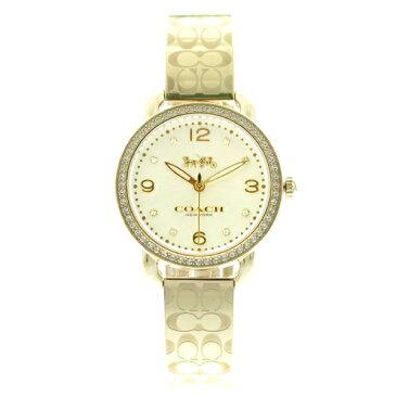 コーチ COACH 腕時計 レディース 14502766 クオーツ シルバー ゴールド