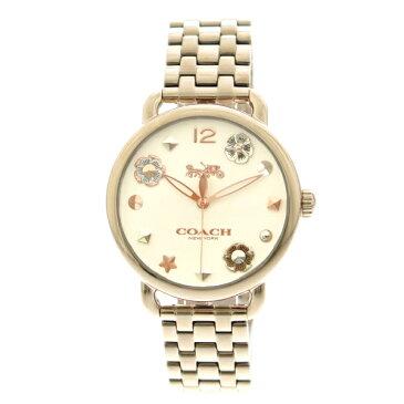 コーチ COACH 腕時計 レディース 14502811 クオーツ ホワイト ピンクゴールド