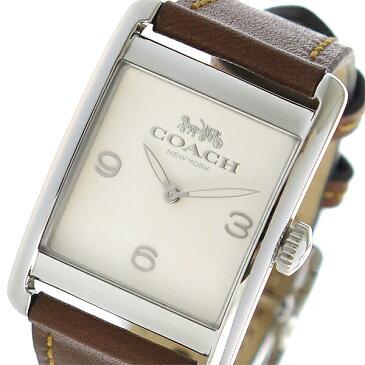 コーチ COACH クオーツ レディース 腕時計 14502829 アイボリー