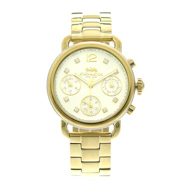コーチ COACH 腕時計 レディース 14502943 クオーツ メタルホワイト ゴールド