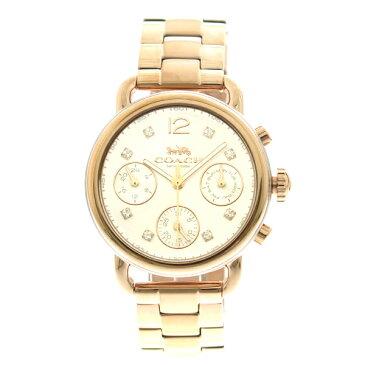 コーチ COACH 腕時計 レディース 14502944 クオーツ メタルホワイト ピンクゴールド