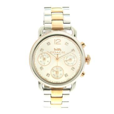 コーチ COACH 腕時計 レディース 14502945 クオーツ シルバー シルバー ピンクゴールド