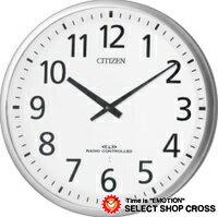 【お取寄せ】 シチズン CITIZEN スリーウェイブ Wave Three クォーツ 掛時計 4my82119 ホワイト 白:時計&雑貨セレクトショップクロス