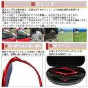 スポーツサングラス 偏光サングラス リーボミラー TR-90 3種類レンズ付 度付き対応 レッド TK-92-7 メンズ レディース 2