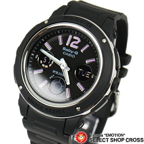 腕時計 Baby-G ベビーG カシオ CASIO レディース アナログ アナデジ BGA-150-1BDR ブラック 黒 海...