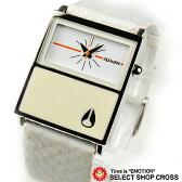 NIXON ニクソン 腕時計 レディース ステンレス アナログ CHALET LEATHER A576843 ホワイト