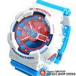 Gショック カシオ G-shock CASIO 腕時計 BLUE & RED SERIES GA-110AC-7ADR ホワイト/レッド/ライトブルー