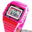 カシオ CASIO メンズ 腕時計 デジタル ベーシック W-215H-4A ピンク 海外モデル 【男性用腕時計 リストウォッチ ランキング ブランド 防水 カラフル】 チープカシオ