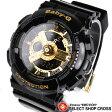 ベビーG カシオ Baby-G CASIO レディース 腕時計 アナログ BA-110-1ADR ブラック/ゴールド 海外モデル bigcase baby-g BA110 【あす楽】