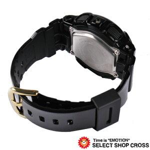 ベビーGカシオBaby-GCASIOレディース腕時計アナログBA-110-1ADRブラック/ゴールド海外モデル