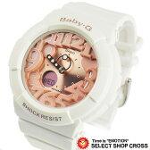 カシオ ベビーG ネオンダイアルシリーズ Baby-G CASIO 海外モデル レディース 腕時計 BGA-131-7B2DR ホワイト×ピンク