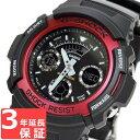 カシオ CASIO G-SHOCK Gショック ジーショック 腕時計 メンズ 海外モデル デジアナ AW-591-4ADR レッド 赤 【あす楽】