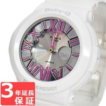 【3年保証】 カシオ 腕時計 CASIO Baby-G ベビーG BGA-160-7B2 ネオンダイアルシリーズ レディース 時計 アナデジ BGA-160-7B2DR ホワイト 白 海外モデル カシオ 腕時計 【スポーツ アウトドア リストウォッチ ブランド かわいい カラフル 】