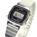 カシオ CASIO レディース 腕時計 デジタル 腕時計 海外モデル LA670WA-1U シルバー 【女性用腕時計 スポーツ アウトドア リストウォッチ ランキング ブランド かわいい カラフル キッズ】 チープカシオ 【あす楽】