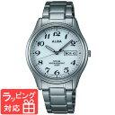 【無料ギフトバッグ付き】 【3年保証】 SEIKO セイコー ALBA アルバ ソーラー メンズ 腕時計 AEFD539 正規品
