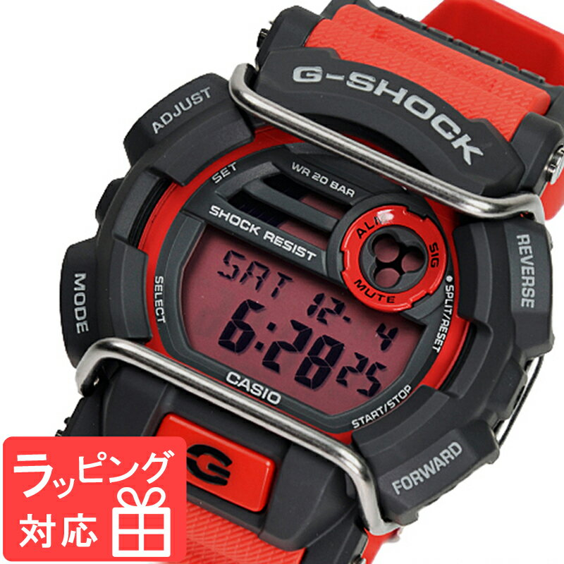 CASIO G-SHOCK Red watch 3 G-SHOCK CASIO G GD-400...