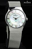 スカーゲン SKAGEN レディース 腕時計 ホワイトパール 233XSSS 【女性用腕時計 リストウォッチ ランキング ブランド かわいい カラフル】