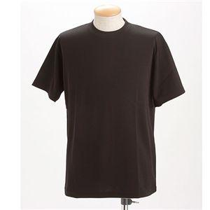 ドライメッシュTシャツ 2枚セット 白+ブラック Lサイズ