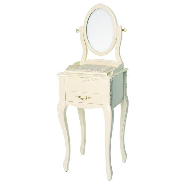 【ペット用家具】Fiore(フィオーレ) 鏡台(ドレッサー) クラシックホワイト【代引不可】:Shop E-ASU