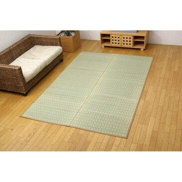 掛川織 い草カーペット 『雲仙』 ベージュ 本間4.5畳(286×286cm)