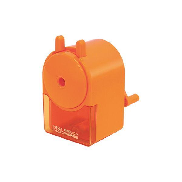 (業務用セット) 手動鉛筆削りき キッズオレンジ DPS-H101KO【×10セット】