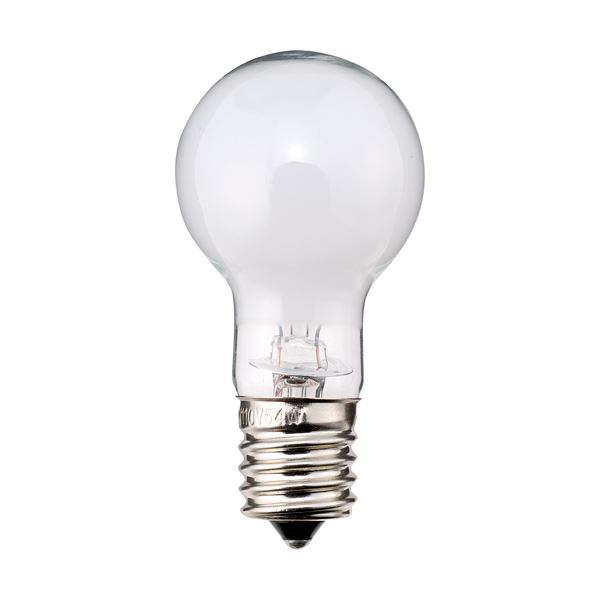 (まとめ) TANOSEE ミニクリプトン電球 40W形 E17口金 ホワイトタイプ 1パック(6個) 【×3セット】