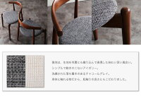 【単品】チェアA(CH33×1脚)【TOMS】アイボリーデザイナーズダイニング【TOMS】トムズ