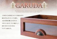デスク【GARUDA】ブラウンアンティーク調アジアン家具シリーズ【GARUDA】ガルダデスク【】