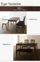 ダイニングセット4点セット(テーブル+チェア2脚+ベンチ1脚)テーブル幅150cmテーブルカラー:ブラウンチェアカラー×ベンチカラー:ホワイト×ホワイトファミリー向けタモ材ハイバックチェアダイニングDaphneダフネ