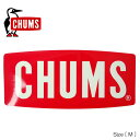 チャムス ステッカー チャムスロゴ Mサイズ (CHUMS CH62-107...