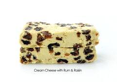 クリームチーズ ラムレーズン 130g【ソフトタイプチーズ/デザートチーズ】