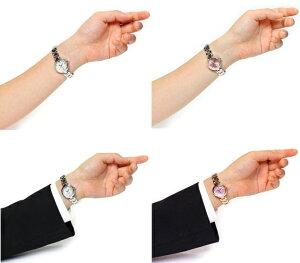 ★10気圧防水10年電池ベルト調整工具プレゼント!プレゼント・ギフトに最適♪【フォーエバー】ペアウォッチ父の日【クリスタル使用】【メンズウォッチ】【レディースウォッチ】[キュート][キラキラ][本命][かわいい][ビジネス][腕時計]