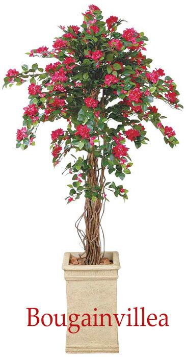 観葉植物 造花 大型 人工観葉植物 消臭・抗菌 UDD触媒 ブーゲンビリア 180cm・200cm人工樹木 フェイクグリーン 【RCP】:ショップ かたくり